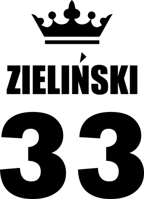 Print Damska koszulka polo Imię, cyfra i korona - PrintSalon
