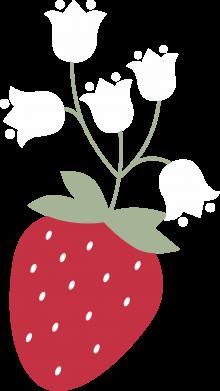 Print Bokserki męskie Flowering strawberries - PrintSalon