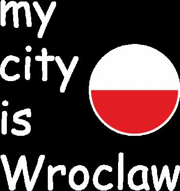 Print Plecak z przednią kieszenią My city is Wroclaw - PrintSalon