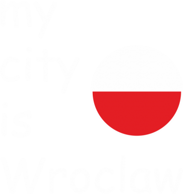 Print Damska koszulka polo My city is Wroclaw - PrintSalon