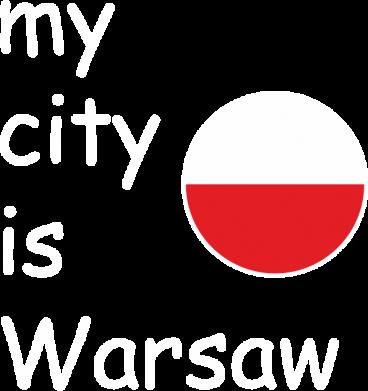 Print Women's hoodies My city is Warsaw - PrintSalon