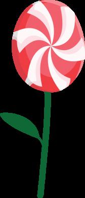 Print Damska koszulka polo Lizak - kwiat - PrintSalon