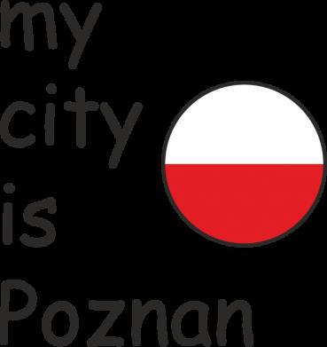 Print Etui na iPhone 11 Pro Max My city is Poznan - PrintSalon