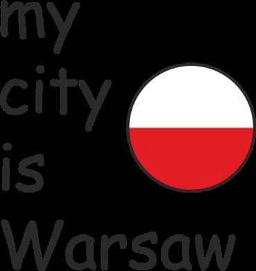 Print Mug 330ml My city is Warsaw - PrintSalon