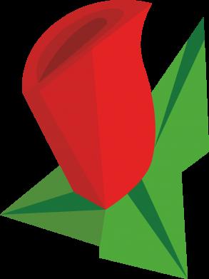 Print Bokserki męskie Rose flower abstraction - PrintSalon