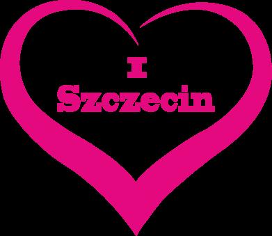 Print Men's hoodie I love Szczecin - PrintSalon