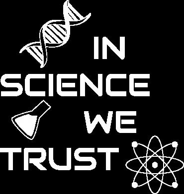 Print Sweatshirt In science we trust - PrintSalon