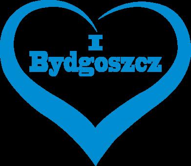 Print Damska bluza I love Bydgoszcz - PrintSalon