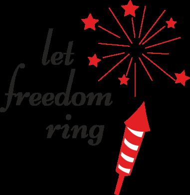 Print Etui na iPhone 11 Let freedom ring - PrintSalon