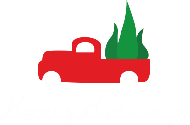 Print Sweatshirt Happy Holidays! - PrintSalon