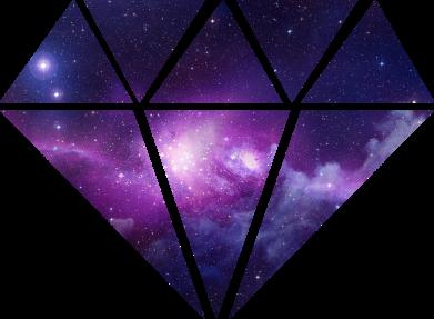 Print Sweatshirt Cosmic crystal - PrintSalon