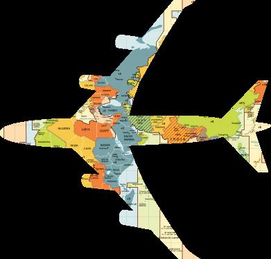 Print Water bottle Airplane card - PrintSalon