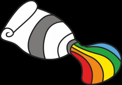 Print Kubek-kameleon Rainbow colors - PrintSalon