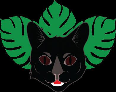 Print Sweatshirt Brown-eyed panther - PrintSalon