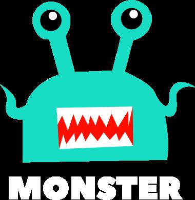 Print Sweatshirt Green monster - PrintSalon