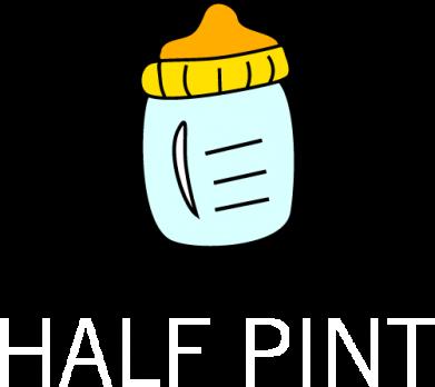 Print Sweatshirt Half pint - PrintSalon