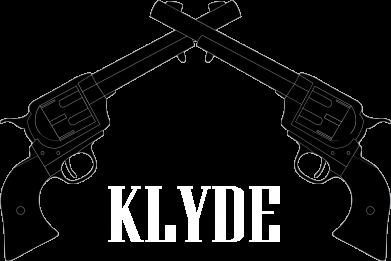 Print Bokserki męskie Gun Clyde - PrintSalon