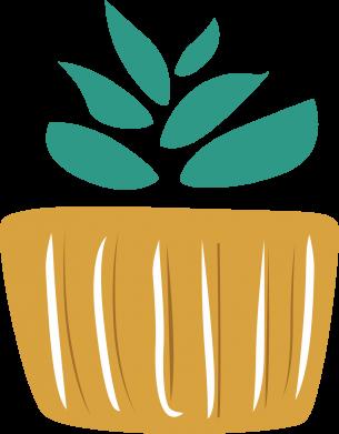 Print Bokserki męskie Aloe in a pot - PrintSalon