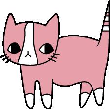 Print Sweatshirt Cat with leaves - PrintSalon