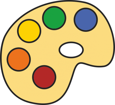 Print Bokserki męskie Rainbow palette - PrintSalon