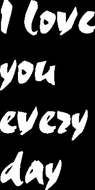 Print Plecak z przednią kieszenią I love you every day - PrintSalon