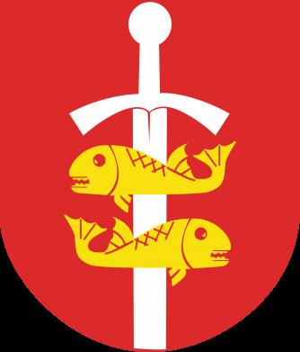 Print Water bottle Gdynia coat of arms - PrintSalon