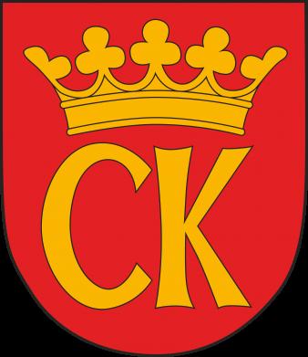 Print Water bottle Kielce coat of arms - PrintSalon