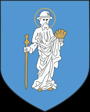 Print Water bottle Olsztyn coat of arms - PrintSalon