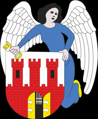 Print Water bottle Torun coat of arms - PrintSalon