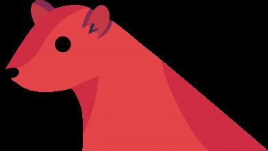 Print Men's Polo shirt Pink Mongoose - PrintSalon
