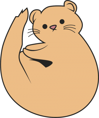 Print Bokserki męskie Cute otter - PrintSalon