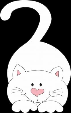 Print Men's Polo shirt Playful white cat - PrintSalon