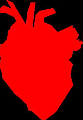 Print Bokserki męskie Heart abstraction - PrintSalon