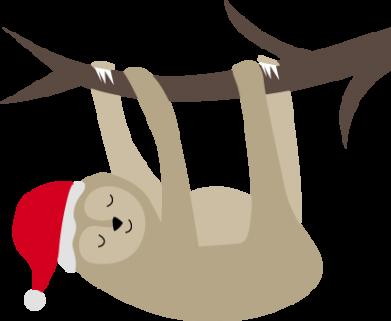Print Bokserki męskie Szczęśliwy leniwiec na gałęzi - PrintSalon