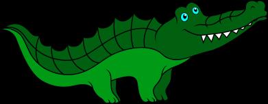Print Etui na iPhone 11 Blue-eyed crocodile - PrintSalon
