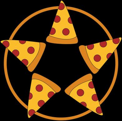 Print Notes Pizza pentagram - PrintSalon