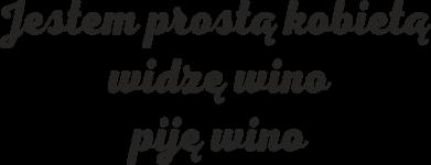 Print Kubek-kameleon Jestem prostą kobietą - widzę wino, piję wino - PrintSalon