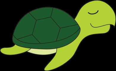 Print Men's Polo shirt Sleeping turtle - PrintSalon