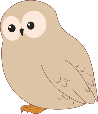 Print Bokserki męskie Plump owl - PrintSalon