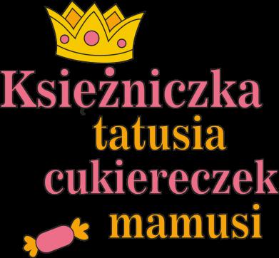 Print Kubek-kameleon Księżniczka tatusia cukiereczek mamusi - PrintSalon