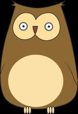 Print Bokserki męskie Owl with big eyes - PrintSalon