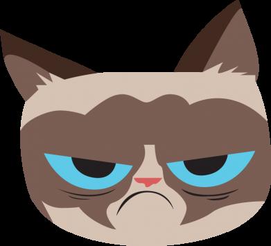 Print Men's Polo shirt Very dissatisfied cat - PrintSalon