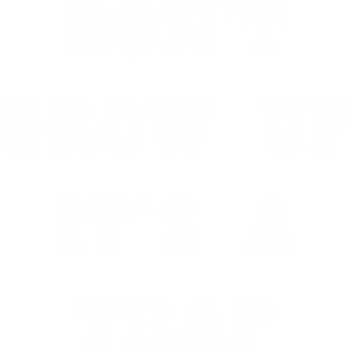 Print Męska bluza z kapturem Don't grow up - PrintSalon
