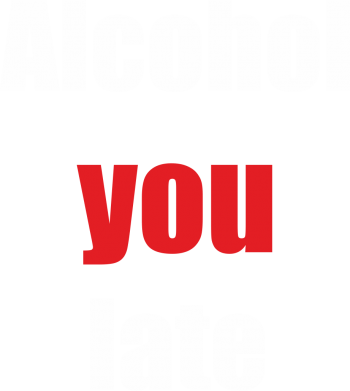 Print Koszulka Polo Alcohol you late - PrintSalon