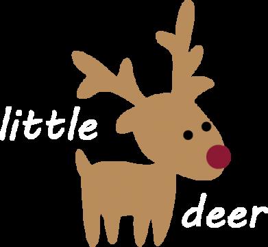 Print Sweatshirt Little deer - PrintSalon