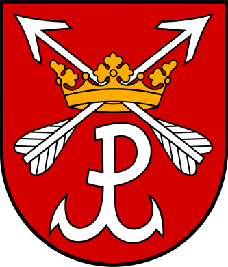 Print Bokserki męskie Kotwica herb - PrintSalon