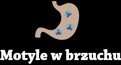 Print Plecak z przednią kieszenią Motyle w brzuchu - PrintSalon