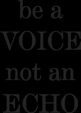 Print Etui na iPhone 11 Pro Max Be a voice not an echo - PrintSalon