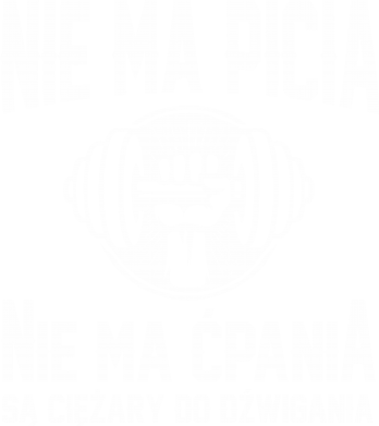 Print Damska koszulka V-neck Nie ma picia nie ma ćpania - PrintSalon
