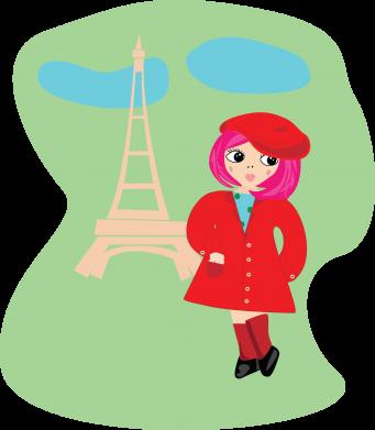 Print Phone case for Samsung S10 Girl in Paris - PrintSalon